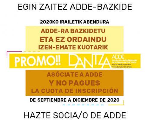 PROMOCIÓN ADDE 2020